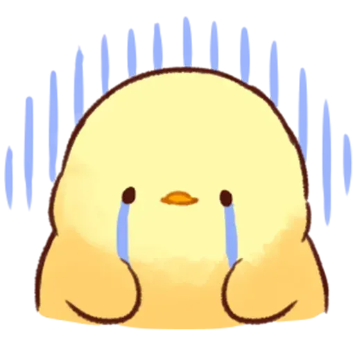 Soft and Cute Chick - Sticker 23