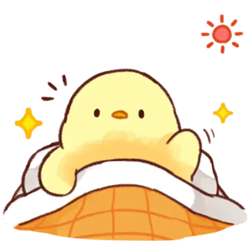 Soft and Cute Chick - Sticker 19