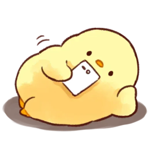 Soft and Cute Chick - Sticker 24