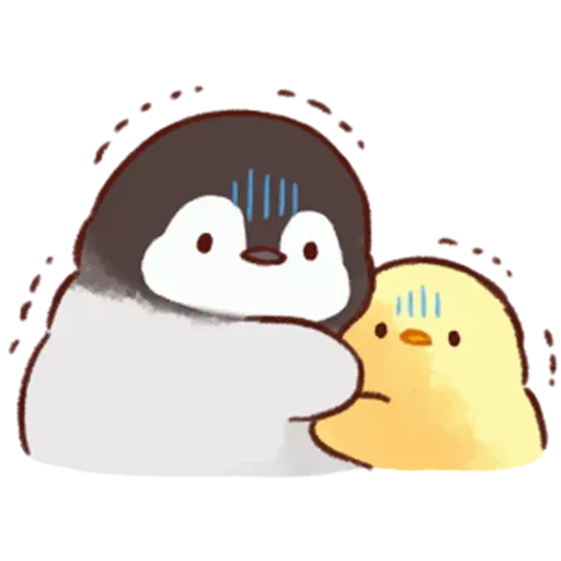 Soft and Cute Chick - Sticker 9
