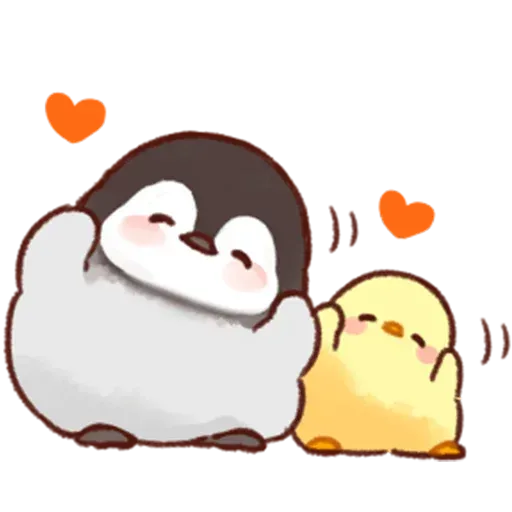 Soft and Cute Chick - Sticker 15
