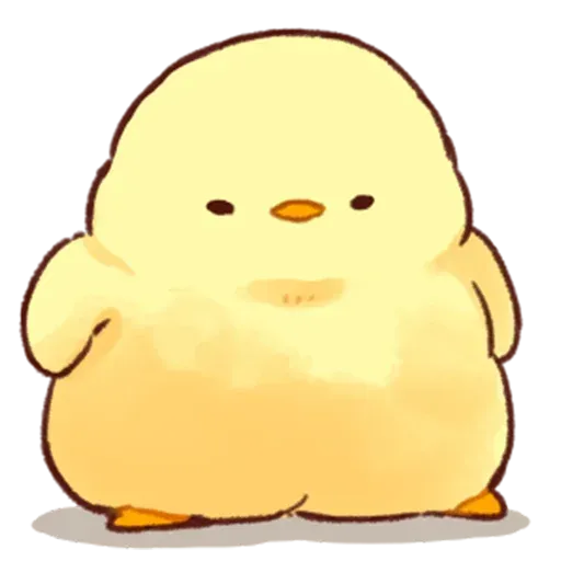 Soft and Cute Chick - Sticker 25