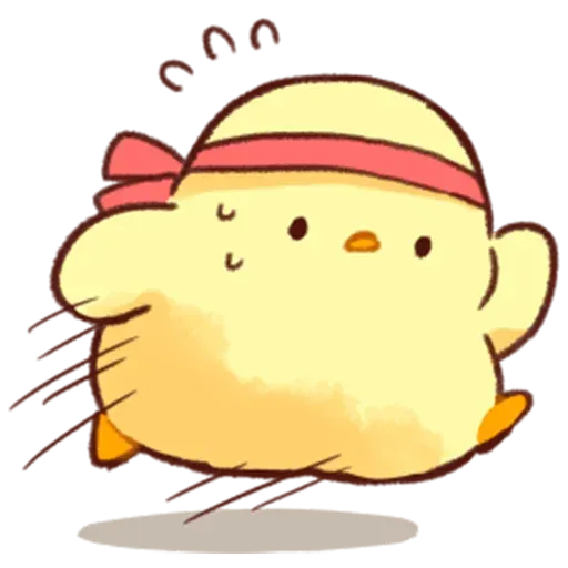 Soft and Cute Chick - Sticker 27