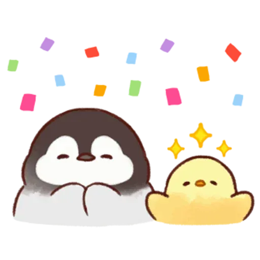 Soft and Cute Chick - Sticker 7