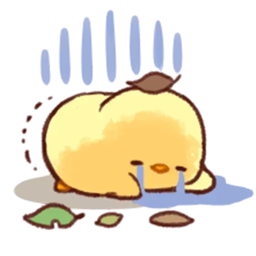 Soft and Cute Chick - Sticker 22