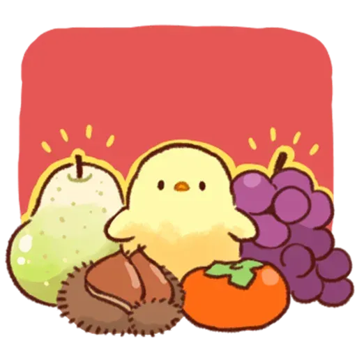 Soft and Cute Chick - Sticker 13