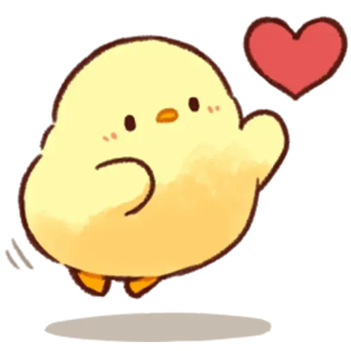 Soft and Cute Chick - Sticker 29