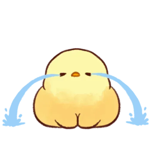 Soft and Cute Chick - Sticker 8
