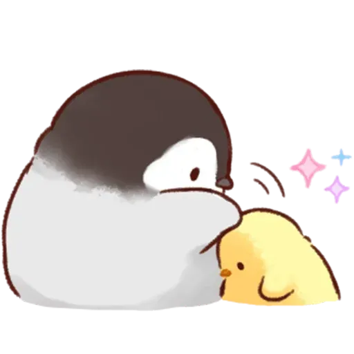 Soft and Cute Chick - Sticker 14