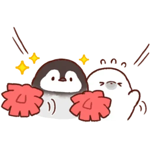Soft and Cute Chick - Sticker 28