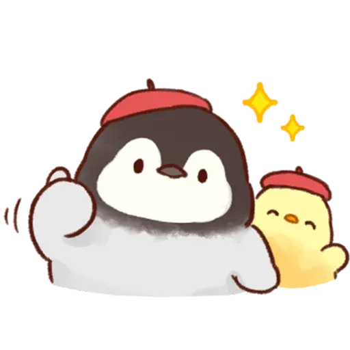 Soft and Cute Chick - Sticker 12