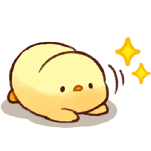 Soft and Cute Chick - Sticker 17