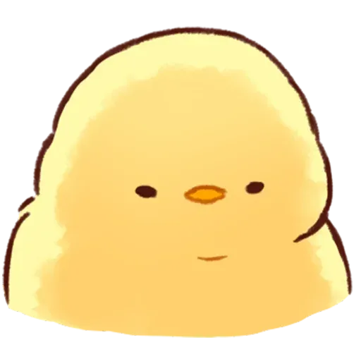 Soft and Cute Chick - Sticker 26