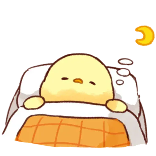 Soft and Cute Chick - Sticker 20