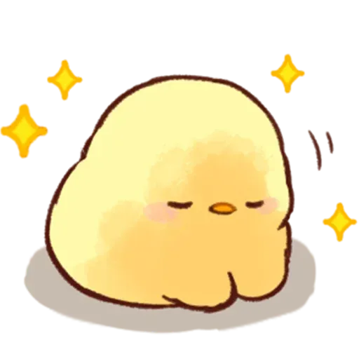 Soft and Cute Chick - Sticker 18
