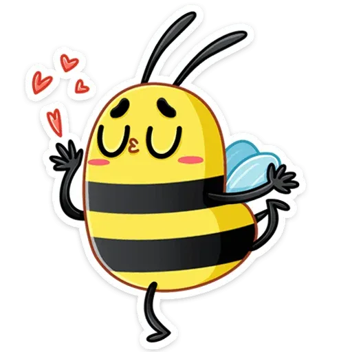 Bee - Sticker 3