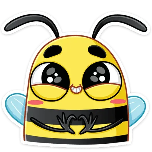 Bee - Sticker 1