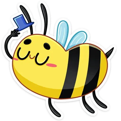 Bee - Sticker 2