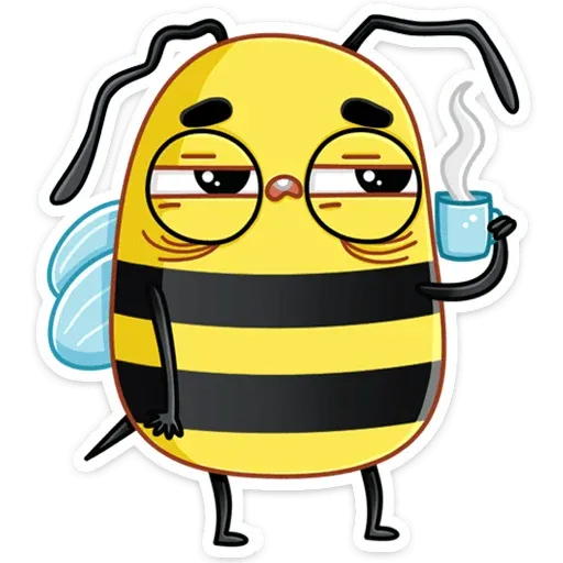 Bee - Sticker 4
