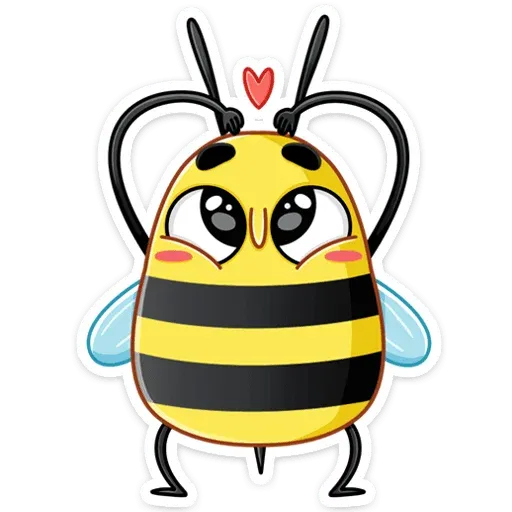 Bee - Sticker 13