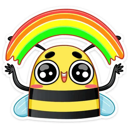 Bee - Sticker 5