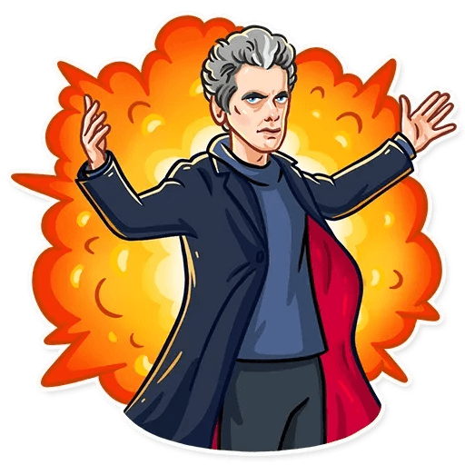 Doctor Who - Sticker 20