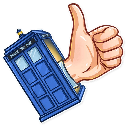 Doctor Who - Sticker 2