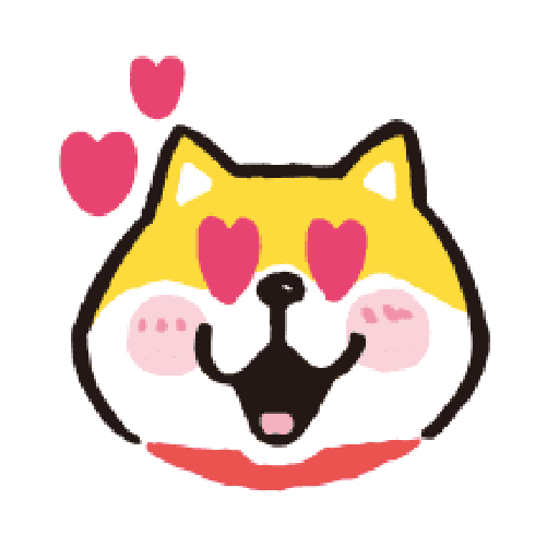 SHIBA Emoji - Sticker 4