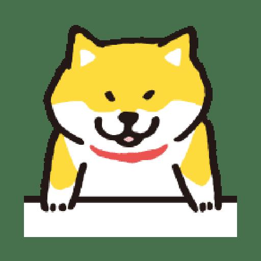 SHIBA Emoji - Sticker 13