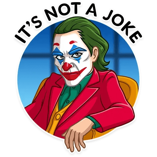 Joker - Sticker 21