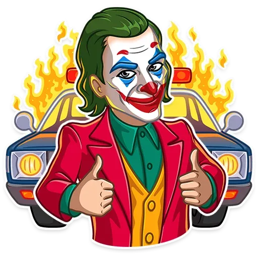 Joker - Sticker 3