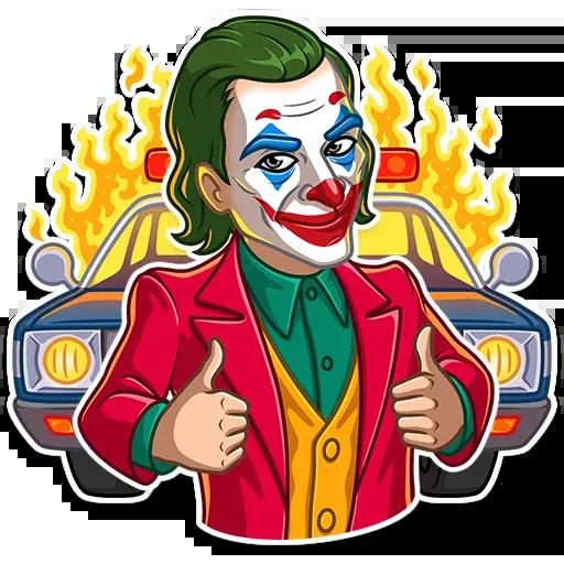 Joker - Sticker 3