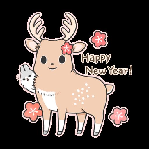 ㄇㄚˊ幾兔18 Festival  - Sticker 22