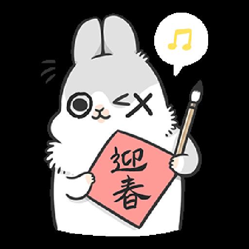 ㄇㄚˊ幾兔18 Festival  - Sticker 19