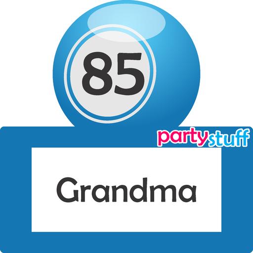 PS Tambola Names 61-90 - Sticker 25