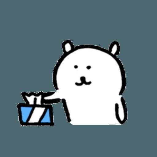 白熊3 - Sticker 23