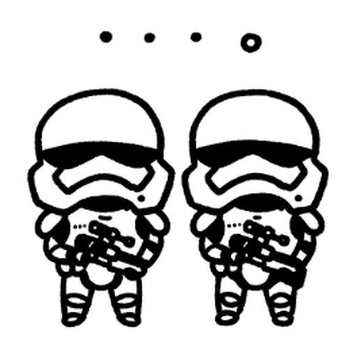 Star Wars QQ2 - Sticker 1