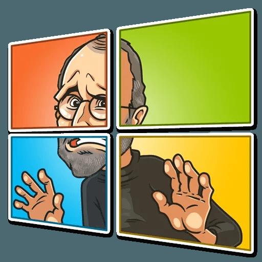 Steve Jobs - Sticker 2