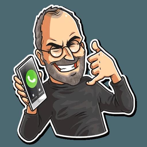 Steve Jobs - Sticker 16