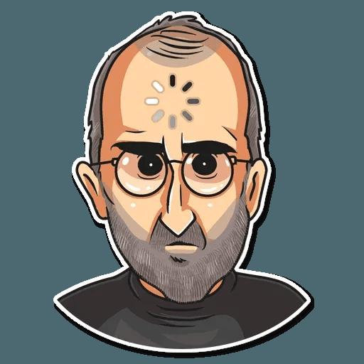 Steve Jobs - Sticker 23