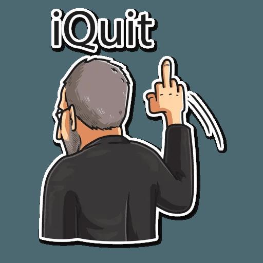 Steve Jobs - Sticker 30