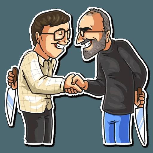 Steve Jobs - Sticker 13