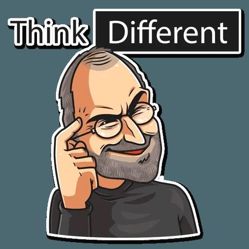 Steve Jobs - Sticker 8