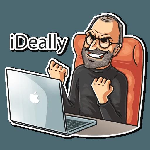 Steve Jobs - Sticker 6