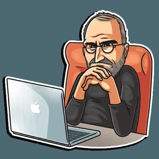 Steve Jobs - Sticker 24