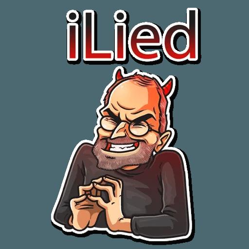 Steve Jobs - Sticker 19