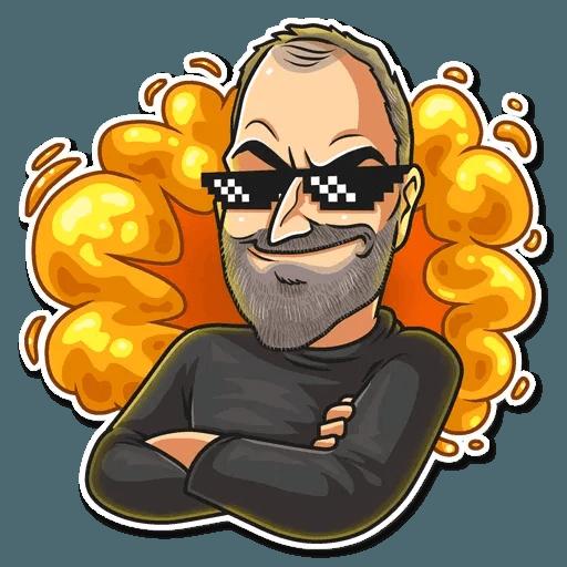 Steve Jobs - Sticker 18