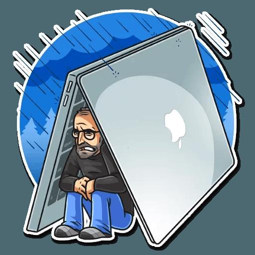 Steve Jobs - Sticker 10