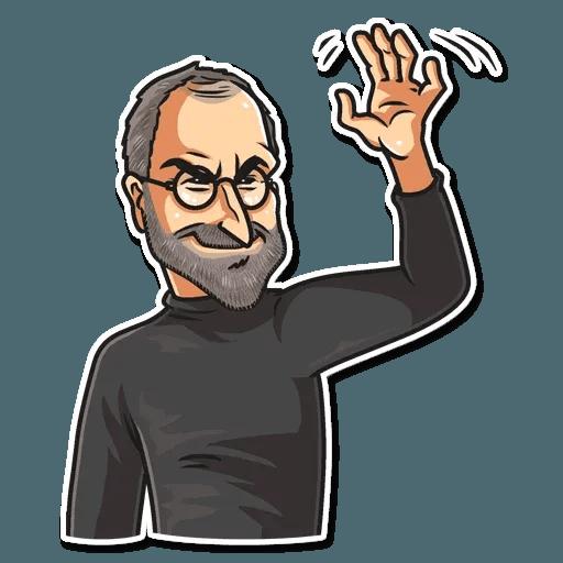 Steve Jobs - Sticker 5