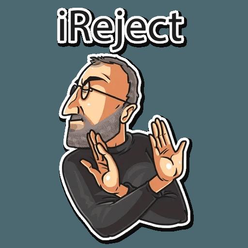 Steve Jobs - Sticker 11